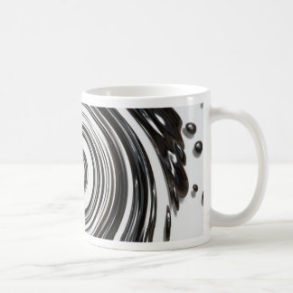 Attraction of love twisted splash coffee mugs