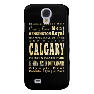 Attractions and Famous Places of Calgary Canada Galaxy S4 Cover