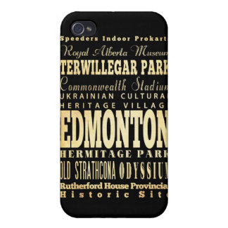 Attractions and Famous Places of Edmonton Canada iPhone 4 Case
