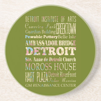 Attractions & Famous Places of Detroit, Michigan. Coasters