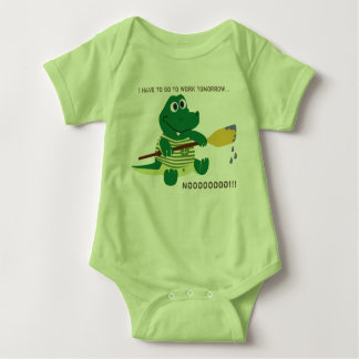 Attractive Baby Dino at work T-Shirt