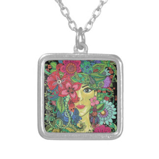 Attractive Gifts Silver Plated Necklace