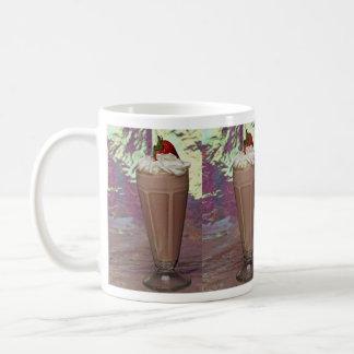 Attractive glass filled with Milkshake Coffee Mug