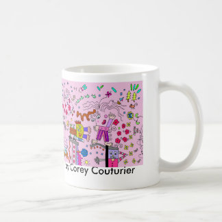 Attractive in Pink by Corey Couturier Classic White Coffee Mug