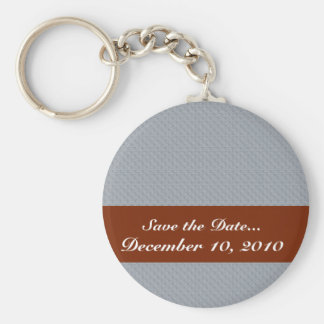 Attractive light grey palm trees on rough grey sur key chains