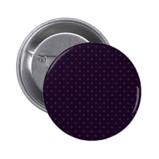 Attractive light purple damask pattern on purple s 2 inch round button