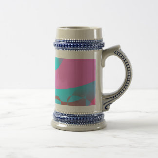 Attractive Pink Abstract Art Coffee Mugs