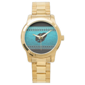 Attractive Pro Tribal Gold Watch