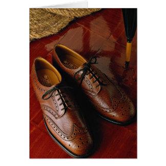 Attractive shoes for gentlemen card