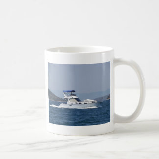 Attractive Small Motorboat Coffee Mug