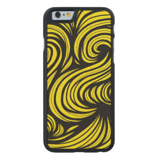 Attractive Tops Giving Action Carved® Maple iPhone 6 Slim Case