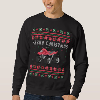 ATV 4 Wheeler Ugly Christmas Sweater