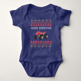 ATV 4 Wheeler Ugly Christmas Sweater