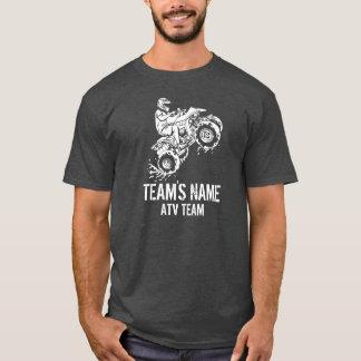 ATV All Terrain Vehicle (Customizable) Team T-Shirt