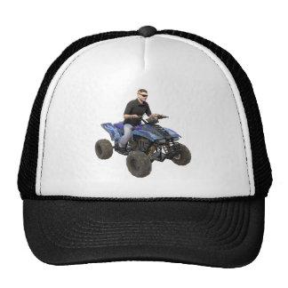 ATV Blue Mud Rider Trucker Hat