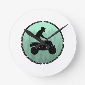 ATV DREAM LAND ROUND CLOCK