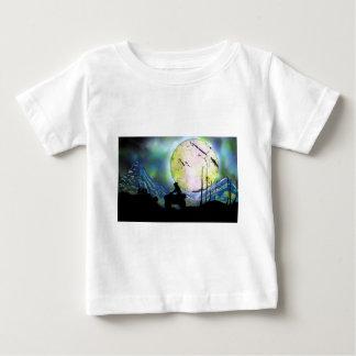 ATV Four Wheeler Space Landscape Spray Paint Art Baby T-Shirt