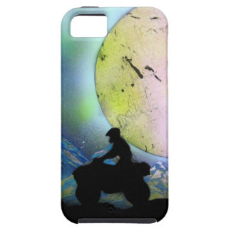 ATV Four Wheeler Space Landscape Spray Paint Art iPhone 5 Cover