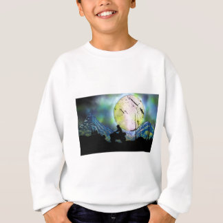 ATV Four Wheeler Space Landscape Spray Paint Art Sweatshirt