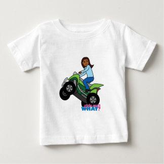 ATV Girl Baby T-Shirt