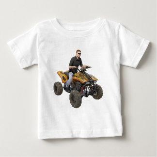 ATV Gold  Mud  Rider Baby T-Shirt