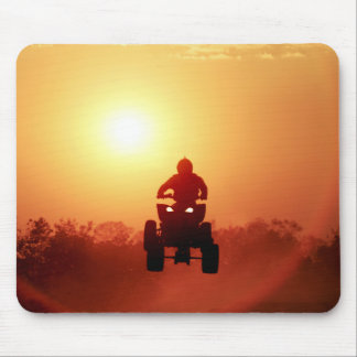 ATV Jumping at Sunset Mouse Pad