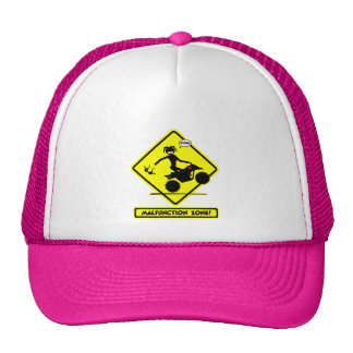 ATV MALFUNCTIONS TRUCKER HAT
