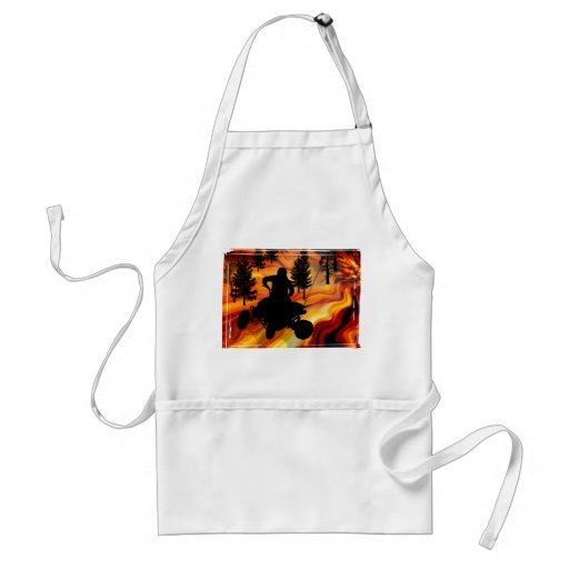 ATV on the Road from Hell Standard Apron