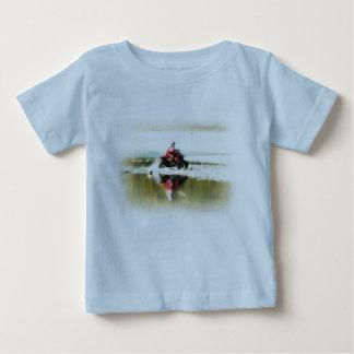 ATV Quad Kid Tears it Up Baby T-Shirt