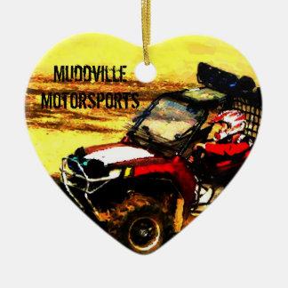 ATV Rider - All Terrain Extreme  Motorsports Ceramic Ornament