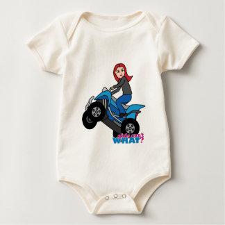 ATV Rider - Red Baby Bodysuit