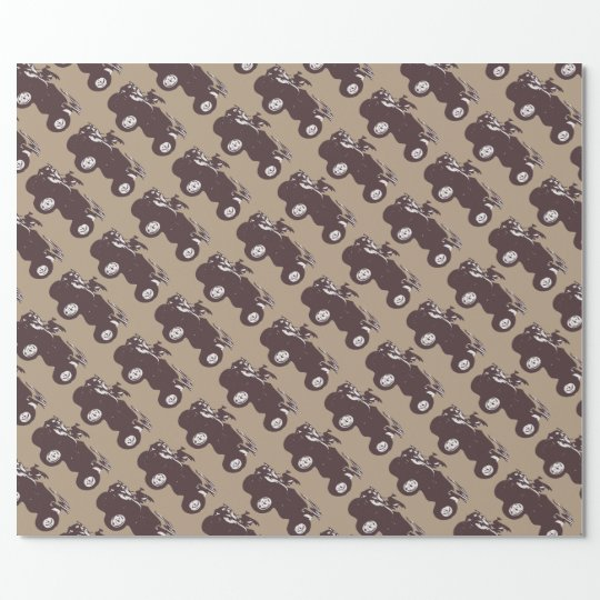 ATV Tiled Gift Wrapping Paper