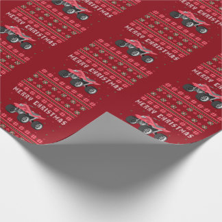ATV Ugly Christmas Sweater Wrapping Paper
