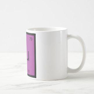 Au - Aubergine Eggplant Chemistry Periodic Table Coffee Mug