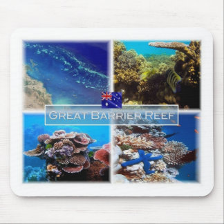 AU - Australia - Great Barrier Reef - Mouse Pad