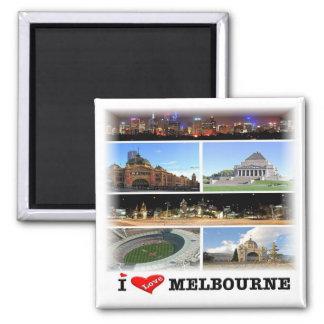 AU * Australia - Melbourne - Mosaic Magnet
