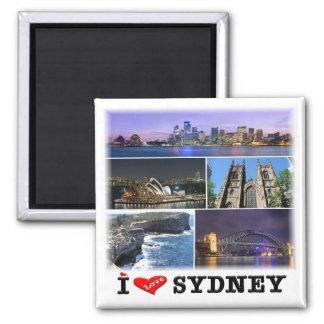 AU * Australia - Sydney -  Mosaic Square Magnet