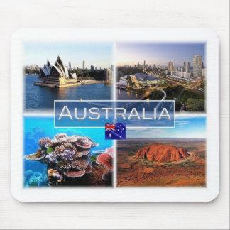 AU Australia - Sydney - Opera House - Gold Coast Mouse Pad