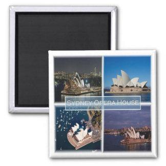 AU * Australia - Sydney - Opera House Magnet