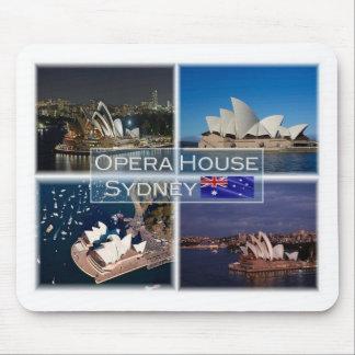 AU  Australia - Sydney - Opera House - Mouse Pad
