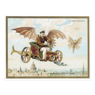 Au Bon Marche' 1900 Palais Victorian Postcard