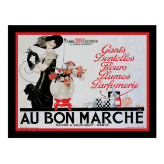 Au Bon Marche Postcard