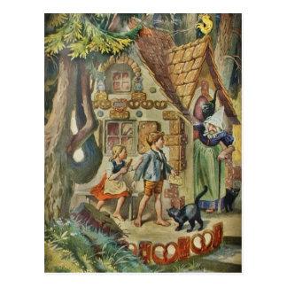 Au cottage de la sorcière carte postale
