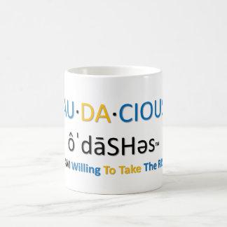 Au-da-cious Mug