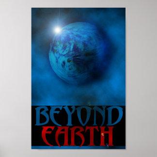 Au delà de la terre posters