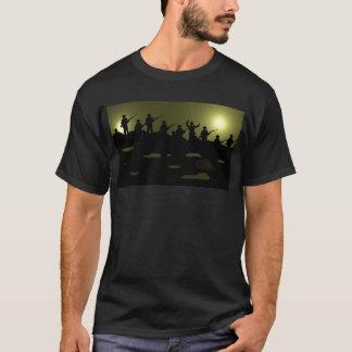 Au-dessus du tee - shirt supérieur t-shirt