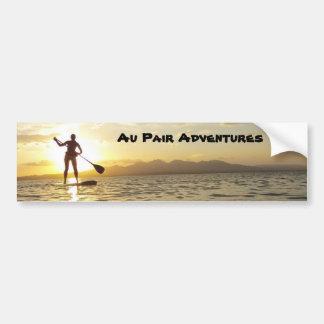 Au Pair Adventures Bumper Sticker, 2012 Bumper Sticker