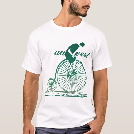 Au Vert (Go Green) Vintage Bicycle T-Shirt