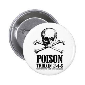 Aube de Trioxin 3-4-5 de zombi de poison des morts Pin's