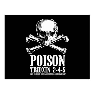 Aube de Trioxin 3-4-5 de zombi de poison des morts Carte Postale